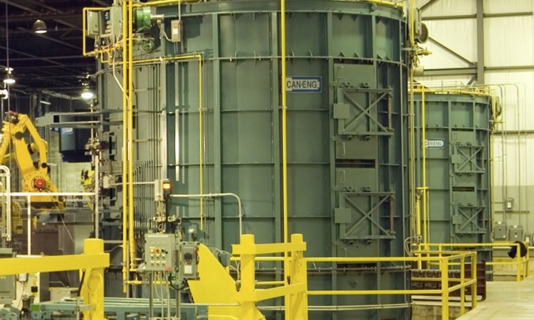Automotive Supplier in Alabama Purchases Heat Treatment System from Can -Eng Furnaces