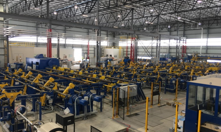 SMS Supplies Heat Treatment Line to Axis Pipe and Tube