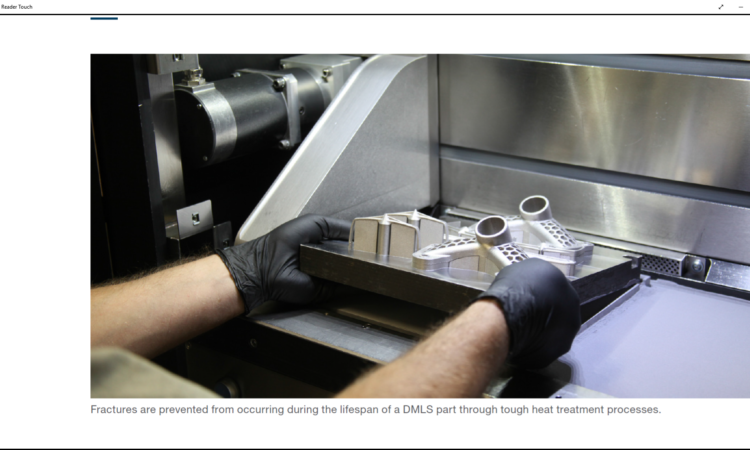 Heat Treat Enhances Density of DMLS 3D Tools