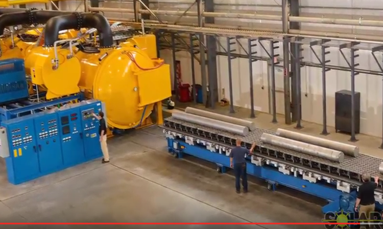 Heat Treat TV: 48′ Vacuum Furnace Installed in Western Pennsylvania