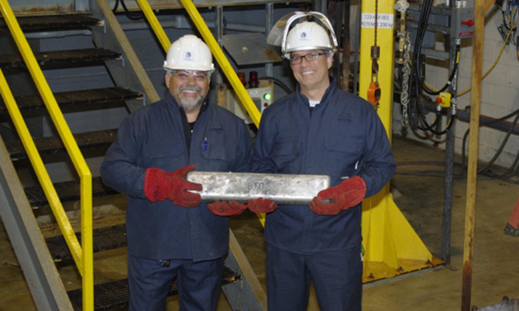 Metal Magnesium Ingots Produced in Quebec