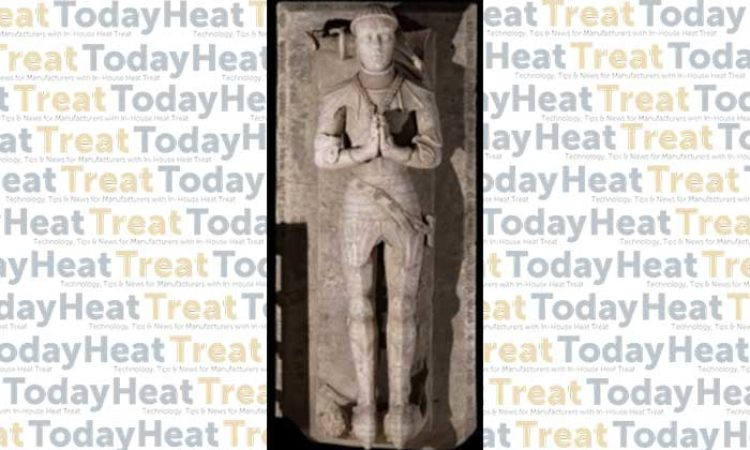 Suit of Armor Receives Heat Treatment