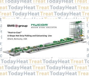 """Nucor Steel Gallatin Orders Hot Strip Galvanizing Line with """"Heat-to-Coat"""" Technology"""