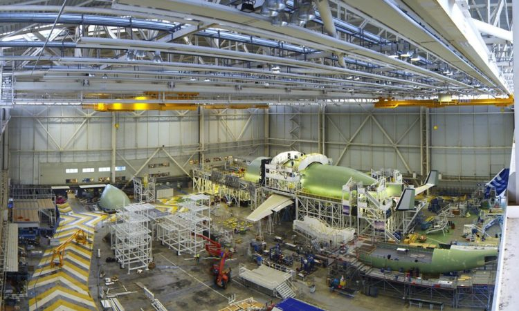 Airbus Provides Glimpse into Production of 5 New BelugaXL Super Transporters