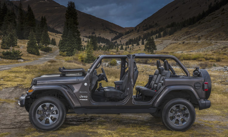Jeep Wrangler Lightens Up in 2018 With Aluminum