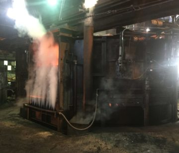 Rebuilt Rotary Furnace Increases Capacity for Canton Forge