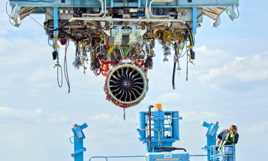 NC Aviation Facility Invests to Expand Jet Engine Production