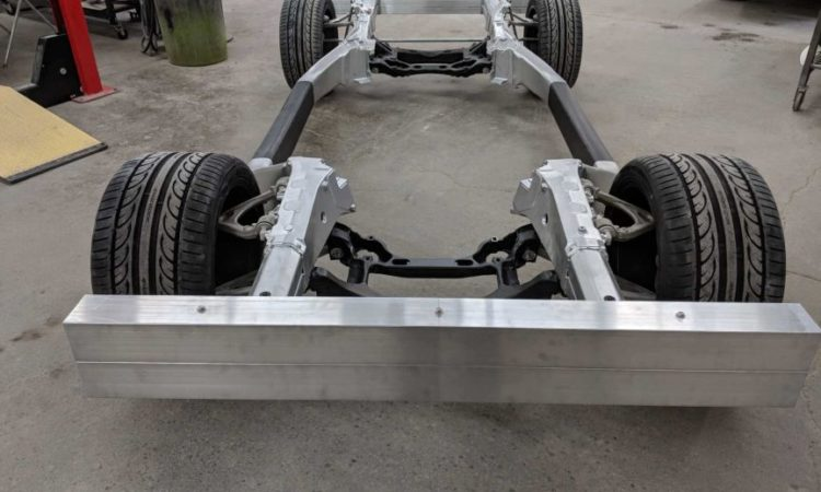 Lightweight Vehicle Frame Draws Attention from Car Aficionados and U.S. Defense