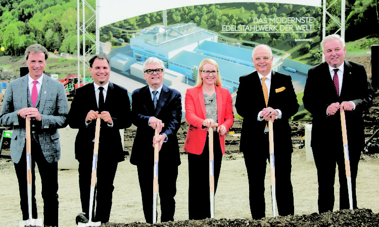 Construction Begins on World's Most Advanced Special Steel Plant, Includes Heat Treat