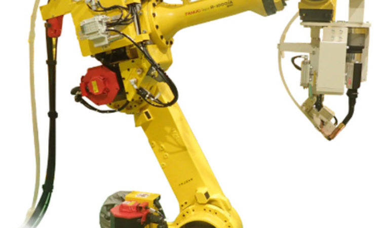 Experimental Robotic Welding System Developed to Speed Auto Assembly Lines