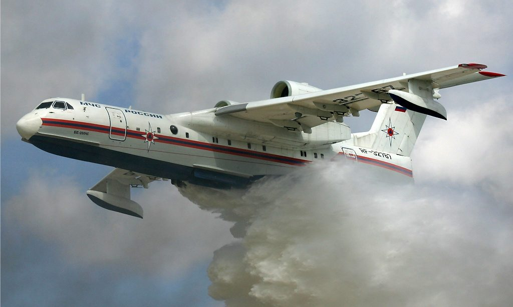 French, Russian Framework Agreement to Re-Engine Fire-Fighting Aircraft