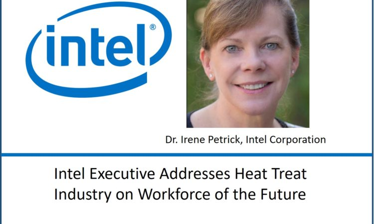 Intel Exec Addresses Heat Treat Industry on Factories of the Future