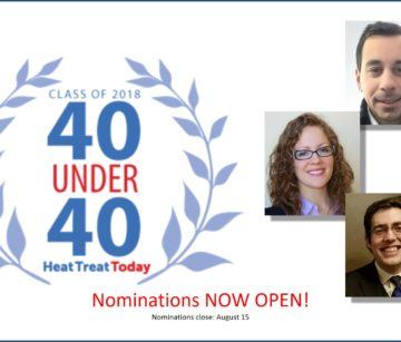 Last Day to Recognize Young Heat Treat Talent