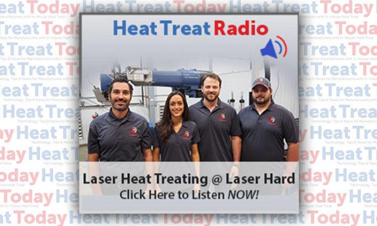 Heat Treat Radio: Laser Heat Treating at Laser Hard