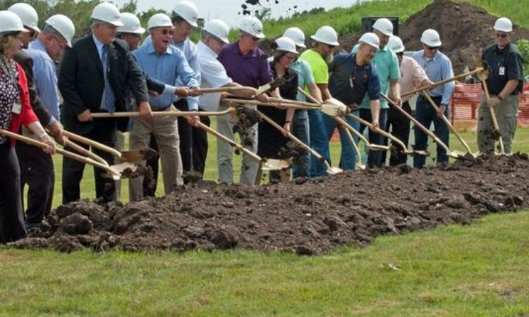 Alum Supplier Breaks Ground for New Press Line