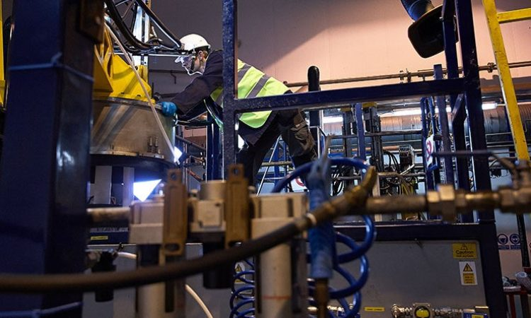 High Value Alloys Plant Powers On in UK