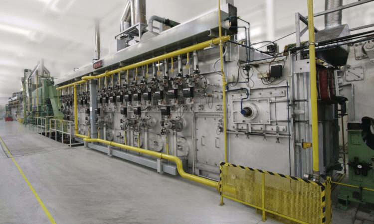 Fastener Maker for Auto Industry Commissions Large Heat Treating Line