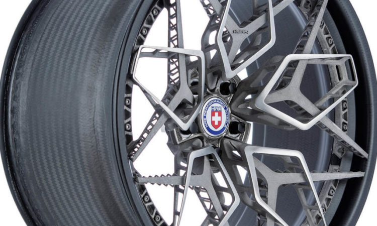 First Titanium Wheel Created with 3D Unveiled in California