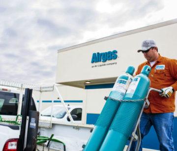 Industrial Gas Supplier Expands Through Building, Acquisition