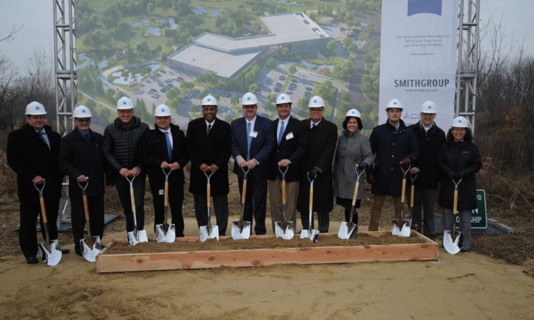 Metrology/Inspection Services Group Breaks Ground in Michigan